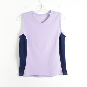 MEC lavender sleeveless lilac gym athletic hiit